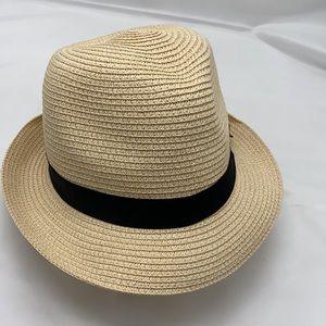 Something Special Fidora Hat,  Black Ribbon trim